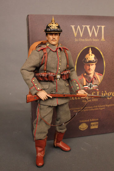 Battle of Liege Imperial German Infantryman with Box