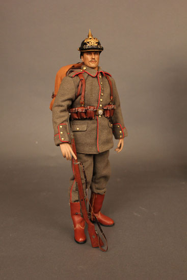 Battle of Liege Imperial German Infantryman Full Figure