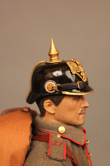 Battle of Liege Imperial German Infantryman with cockade detail