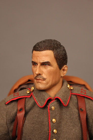 Battle of Liege Imperial German Infantryman with head sculpt detail