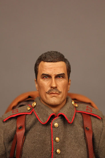 Battle of Liege Imperial German Infantryman with facial detail